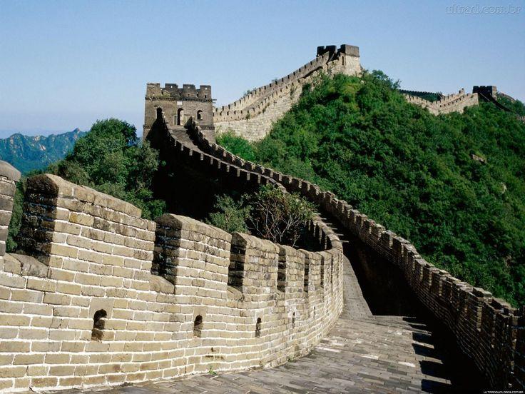 The best Blingee: Você sabe como a muralha da china foi construída ?...