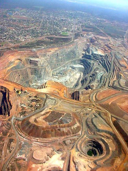 The Super pit, Kalgoorlie, Western Australia
