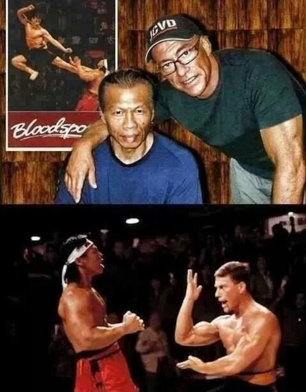 "Bolo Yeung & Jean Claude Van Damme | Then 1988 and ""Now"" 2011"