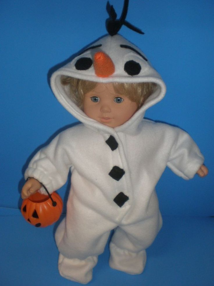 Clothes for bitty baby frozen snowman halloween costume ...