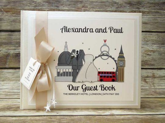 9 best frenci&simo images on pinterest london wedding, wedding Zoo Wedding Guest Book alexandra and paul's london themed wedding guest book, table plan and table names featuring tower Unique Wedding Guest Books