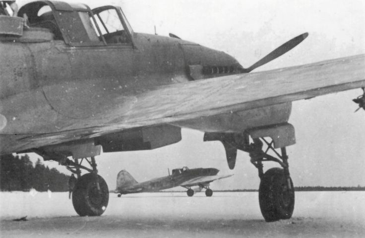 Soviet Il-2 57th-pikirovochno Attack Aviation Regiment Air Baltic Fleet at the…