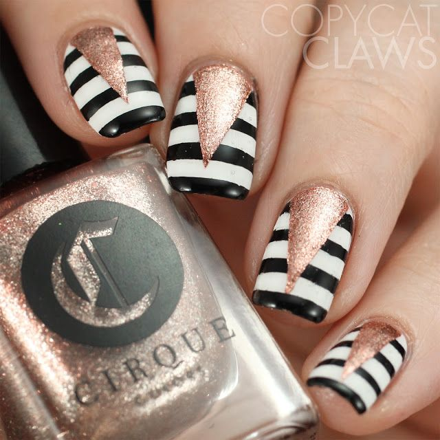 Copycat Claws: 26 Great Nail Art Ideas - Mixed Tape Mani