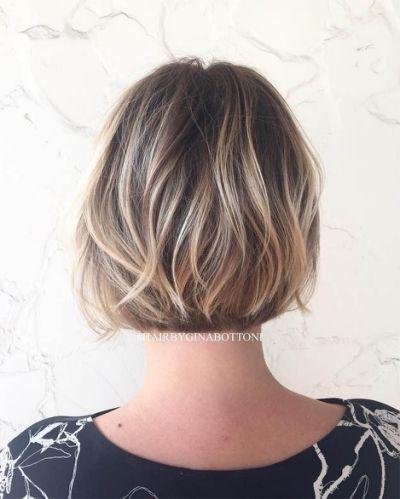 Blonde Foils In Brown Hair Brown Hair Cuts Cortes De