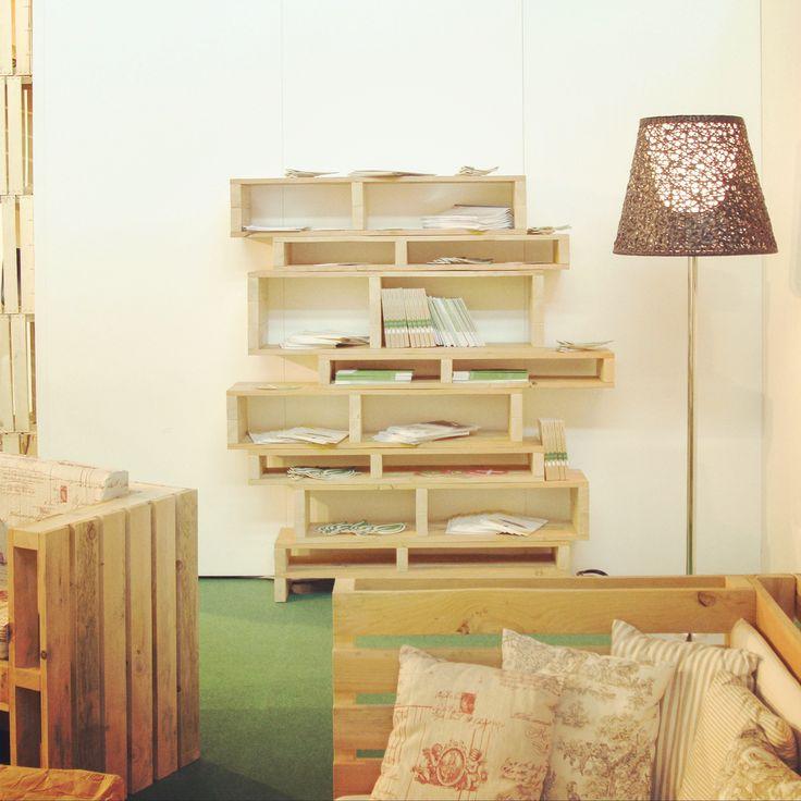 #800x1200 ecodesign di Conlegno allestimento green #pallet #design