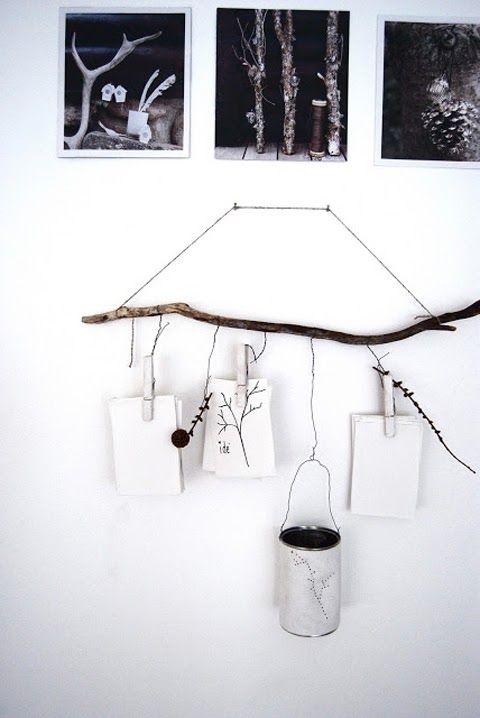 Organicus reutiliza las ramas deco pinterest ramas for Ideas para colgar medallas