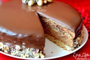 """Рождественский торт-мусс """"Ферреро"""" (Karácsonyi Ferrero torta)   Кулинарные рецепты от «Едим дома!»"""