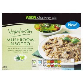 Asda Chosen By You Vegetarian Mushroom Risotto Grocery