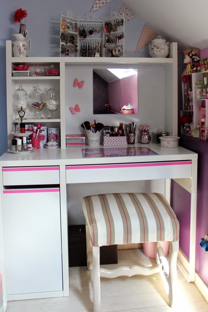 25 best ideas about bureau coiffeuse on pinterest for Petit bureau simple