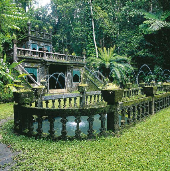 Paronella Park, Cairns, Australia.