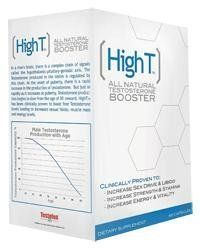High T - High T -All Natural Testosterone Booster, 60 capsules by High T. $37.49 #testosterone #besttestosteronebooster #testosteronesupplement #increasetestosterone