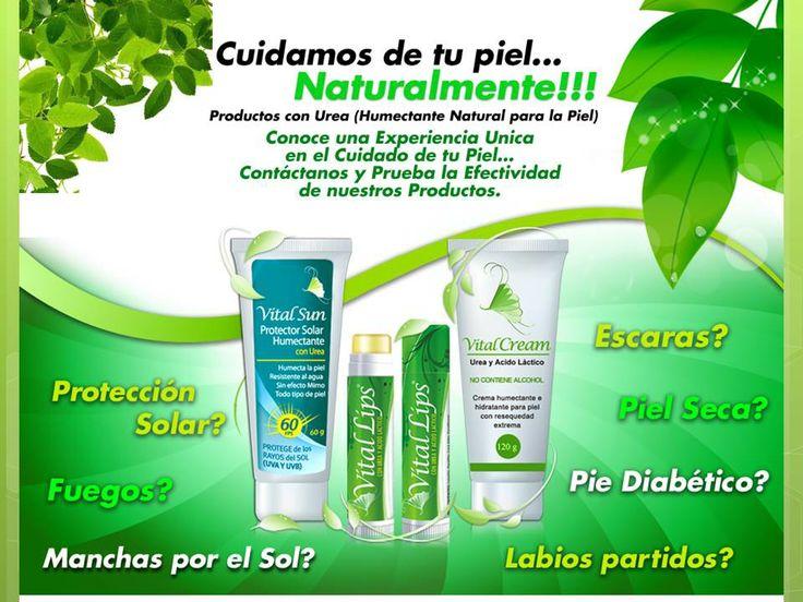 Para el cuidado de tu piel.