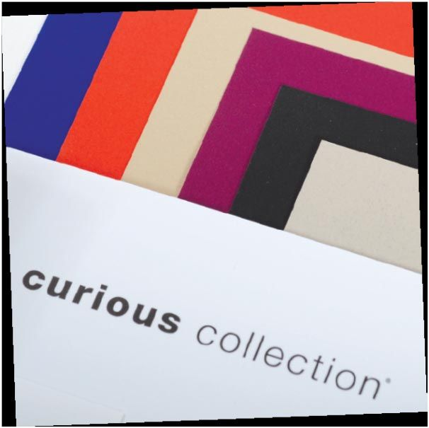 The Curious Collection and Guarro Casas are supplied by ArjoWiggins