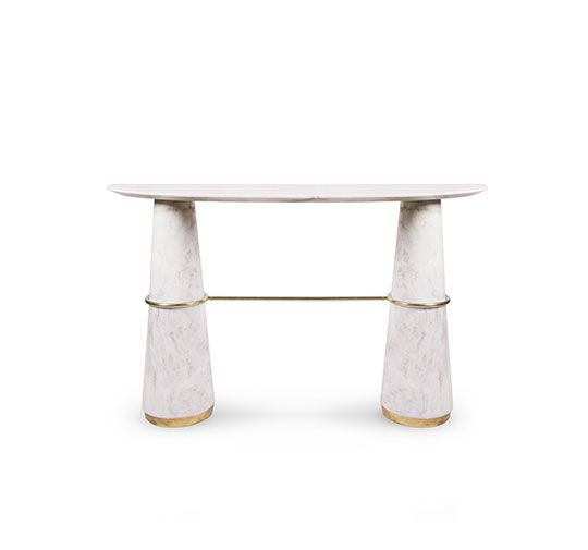 AGRA | Modern Console Table Modern Contemporary Design By BRABBU