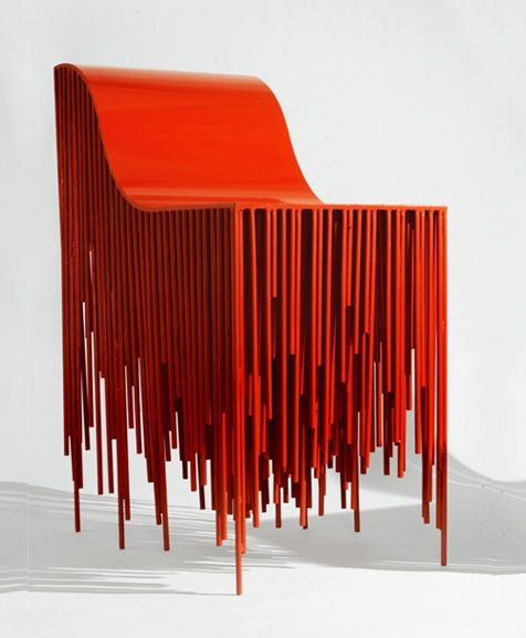 "6 Stylish Modern Chairs To Invite Pantone's ""Flame"" In Your Interior 