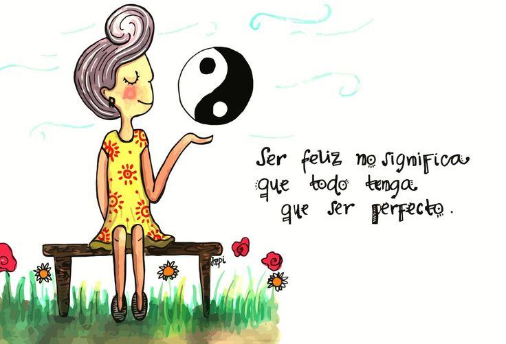RT @teleSURtv: Ser feliz no significa que todo tenga que ser perfecto https://t.co/n2YByCfuCJ por @jopidibuja https://t.co/fVgIr4AncR - Fernanda Jaramillo
