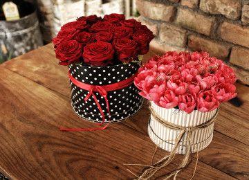 Kytice a Aranžmány flowers boxes