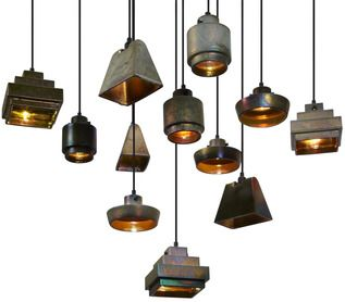 Tom Dixon Lustre Flat Pendant Light | 2Modern Furniture & Lighting