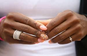 Serena Williams's tennis career can be mapped not only by her quickly growing wins, but by her wildly decadent nails. Colorful, often bedazzled, and unapologetically long, they are her personal trademark amidst tennis's ho-hum dress codes. Here's a look at her most memorable manicures, including the brightest, the boldest, and the most badass.