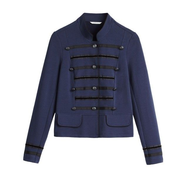 Sandwich Clothing Military Style Jacket Sapphire