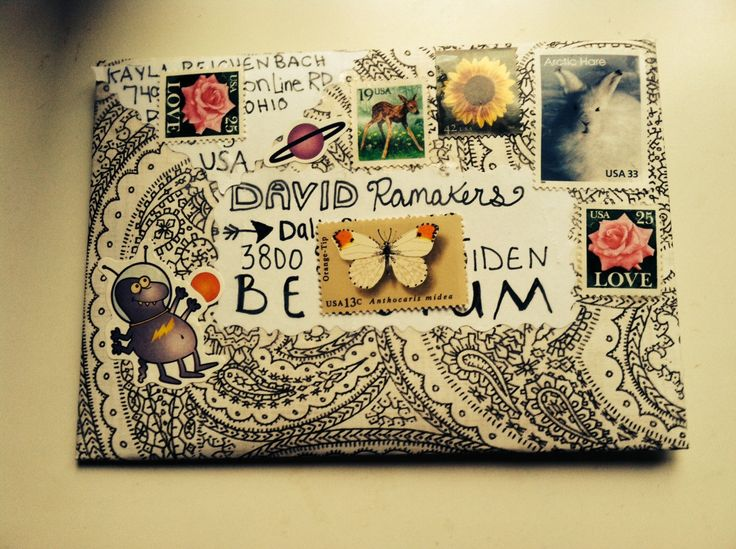 snail mail and pen pal enthusiast : Photo