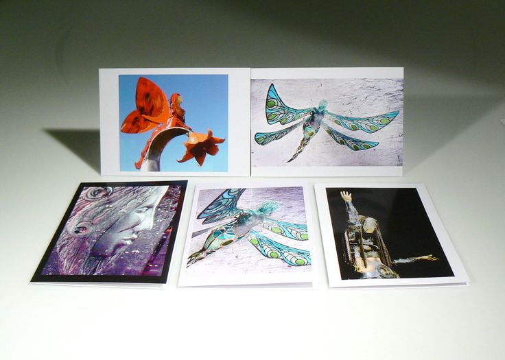 """5 Pack of Sacred Art Greeting Cards:  """"Imagination Becomes Reality"""" by Glassometry on Etsy"""