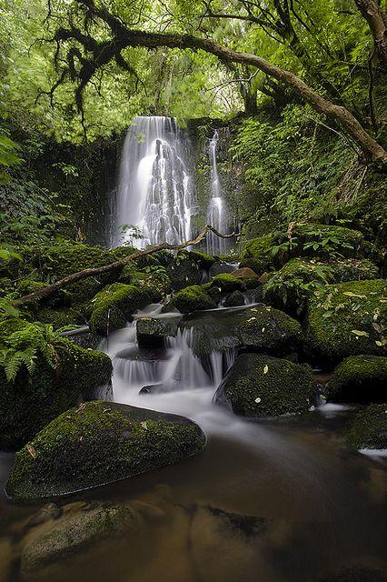 Matai Falls in the Catlins, Caberfeidh, Otago - New Zealand