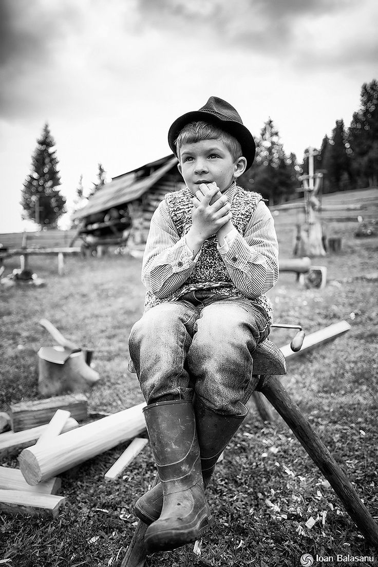 Photograph Bucovina boy portrait by Ioan Balasanu on 500px