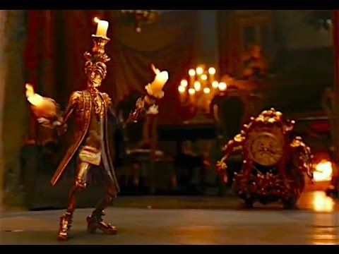 Lumiere And Cogsworth Beauty The Beast 2017