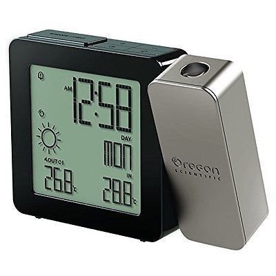 Oregon Scientific Bar368Pa Weather Forecaster, Dual Alarm, Indoor-Outdoor Therm