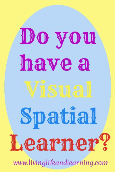 spatial learning If you use the visual style, you prefer using images, pictures, colors, and maps to organize information and communicate with others you can easily visualize objects, plans and outcomes in your mind's eye.