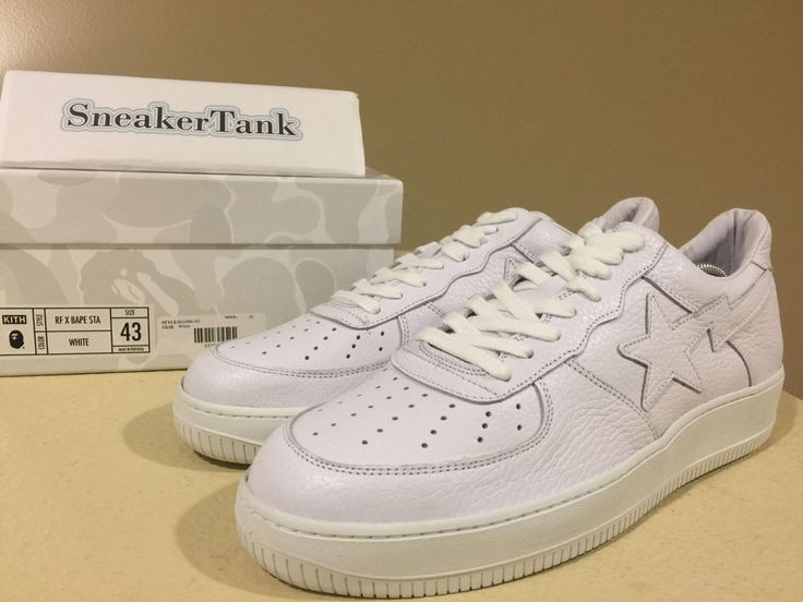 RONNIE FIEG X A BATHING APE BAPESTA WHITE Size US 10 EU 43 | Clothing, Shoes & Accessories, Men's Shoes, Athletic | eBay!