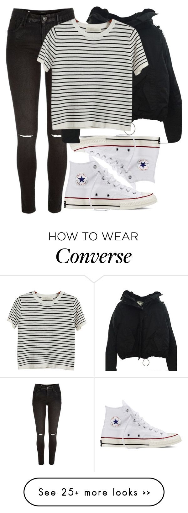 """Now we hearing mamma mia"" by fungirl1forlife on Polyvore featuring River Island, Converse, Acne Studios and Chicnova Fashion"