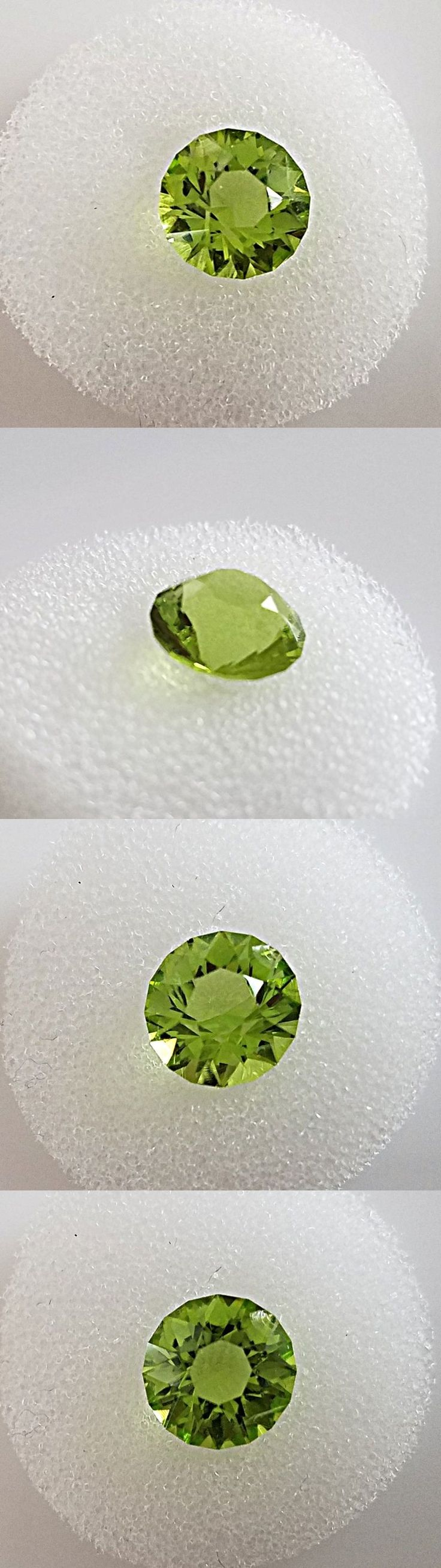 Peridot 10247: Natural Genuine Peridot Loose Stone 9Mm Round Faceted -> BUY IT NOW ONLY: $129 on eBay!