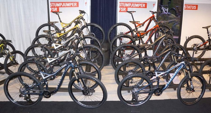 2013 Specialized Mountain Bikes - Complete Overview & Actual Weights