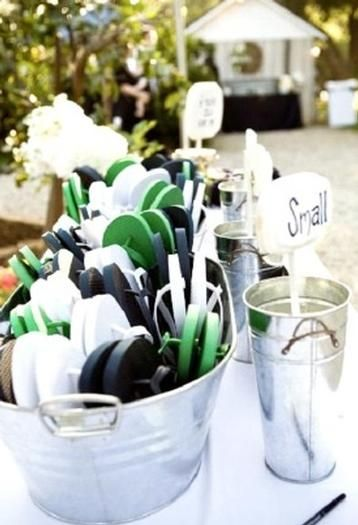 Really Digging The Flip Flop Wedding Favor Idea