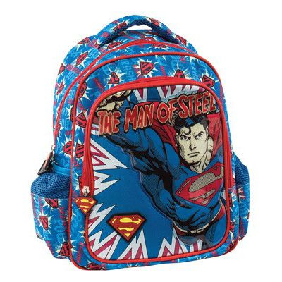 Superman Σχολική Τσάντα Νηπιαγωγείου