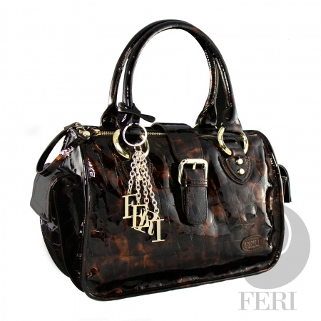 FERI COPPER HANDBAG, beautiful Italian Leather.  (click on pic to go to my website)