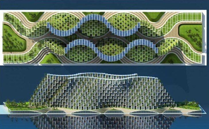 Vincent Callebaut Unveils Coral-Inspired Carbon Neutral Eco Vi...