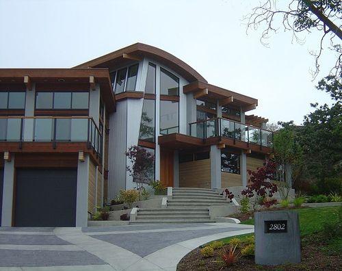30 best boss homes images on pinterest modern - Maison davis miller hull partnership ...