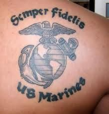 marine tattoos - Google Search