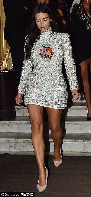 Kylie Jenner steals the spotlight in mini-dress at Balmain show in NYC