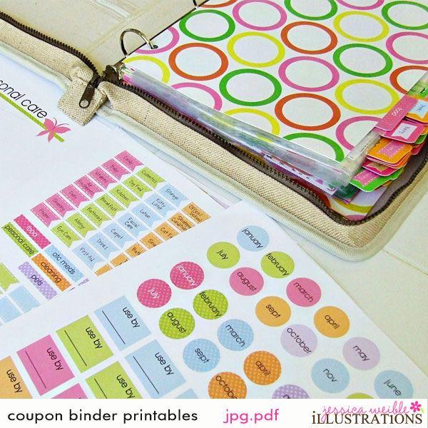 Coupon Binder Printable Templates Free | Printables & Templates - Organized Mom - Coupon Binder Organization ...