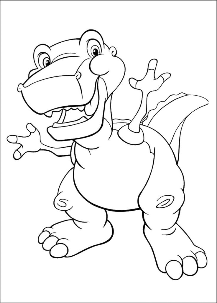 17 best The Land Before Time Colouring Pages images on Pinterest