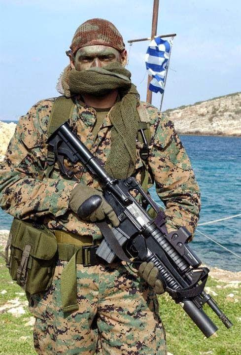 Greek Navy Special Forces - underwater demolition command DYK, 2011.