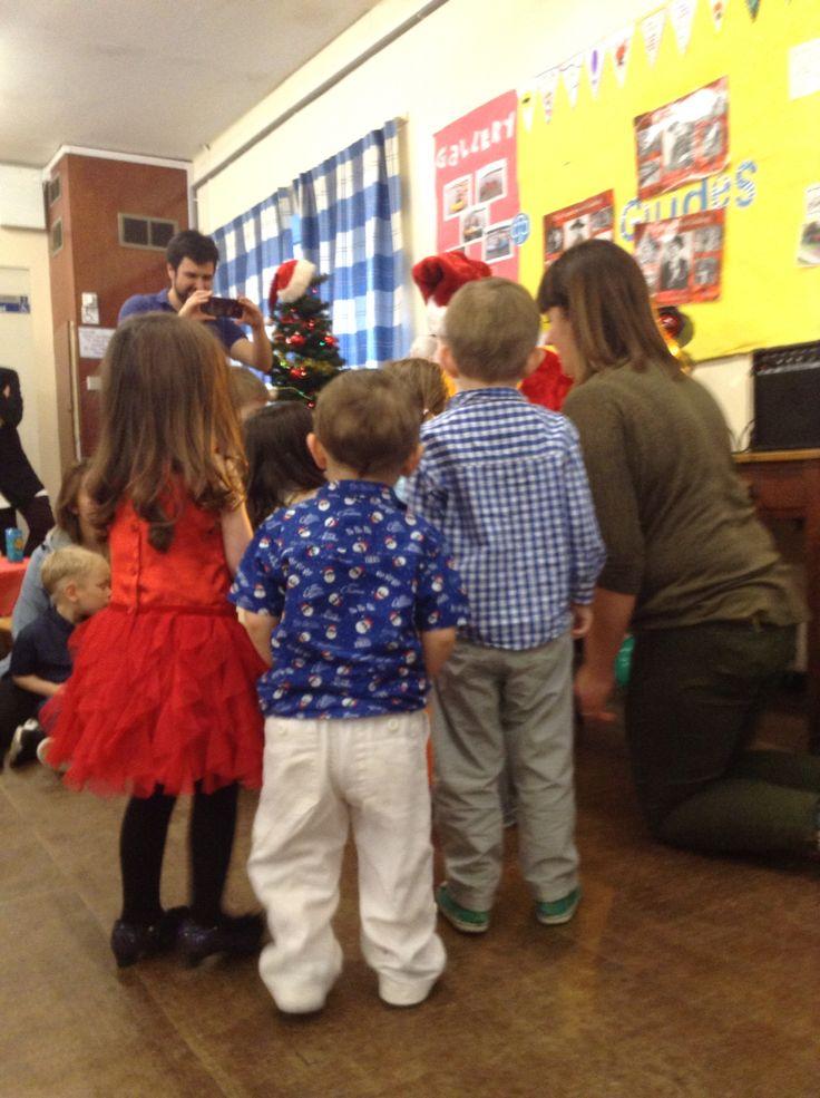Nursery Christmas Party 20.12.15