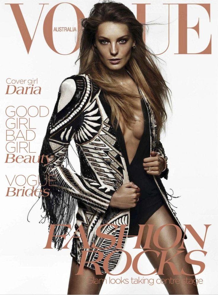 Vogue Australia June 2012 : Daria Werbowy : Daniel Jackson