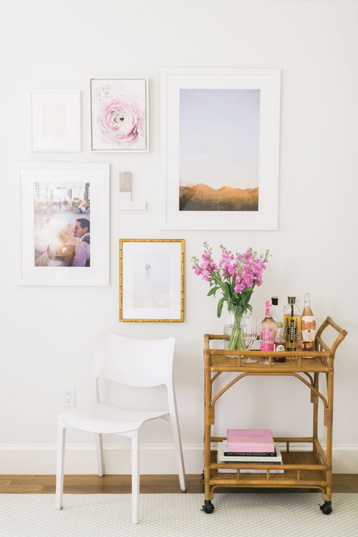 How to craft the ultimate gallery wall with Framebrige! http://www.stylemepretty.com/2016/05/02/craft-the-ultimate-wedding-gallery-wall-with-framebridge/
