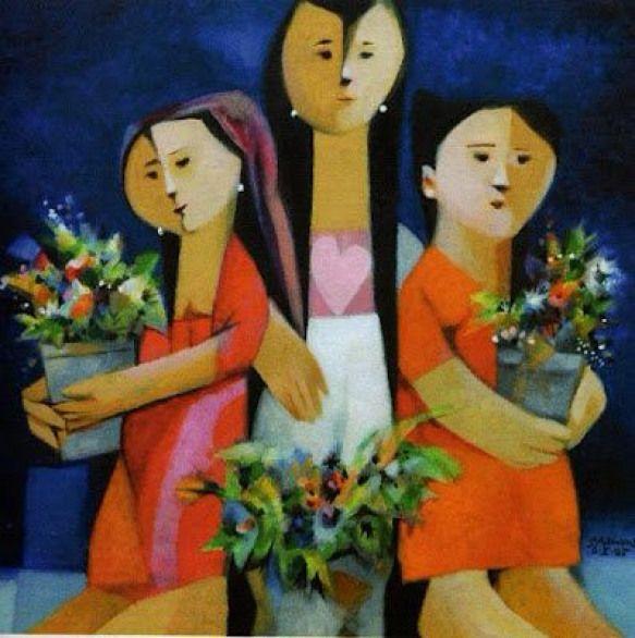 Malang Contemporaryart Contemporary Art Philippines In 2020 Cubist Art Philippine Art Filipino Art