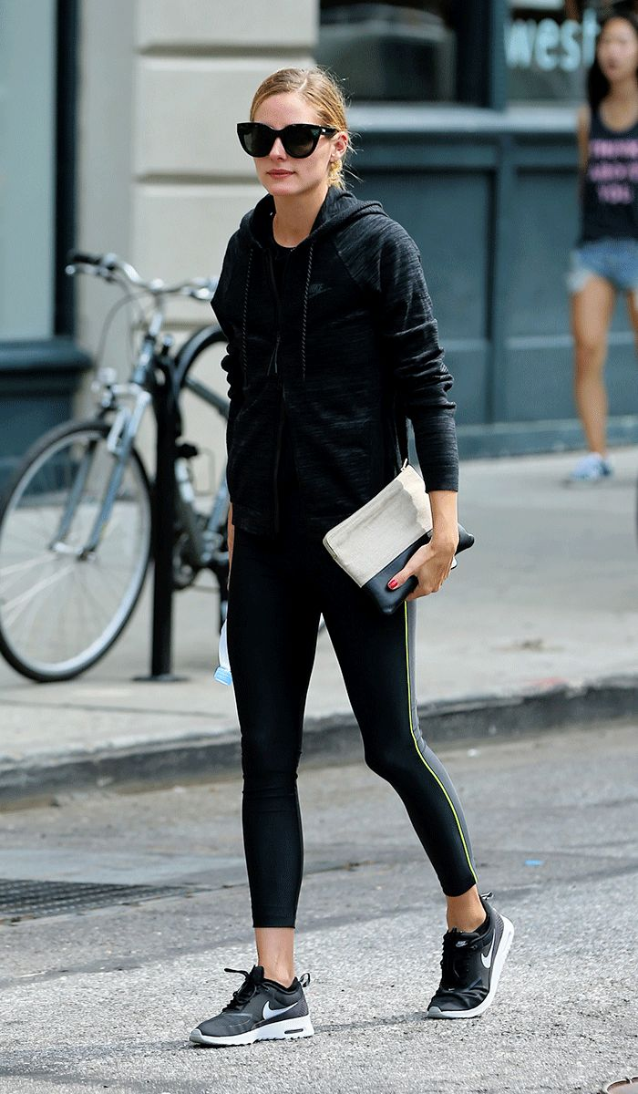 Olivia Palermo Knows This Gym Outfit Never Fails via @WhoWhatWearUK